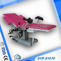 AYR-6157C Hospital hydraulic Adjustable Obstetric table