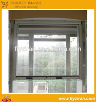 Sliding mosquito screen door and window/window with grill design and mosquito net