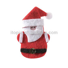 Santa claus wood clip for christmas tree decoration