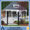 Hot sale perimeter security garden edge wrought iron fence Anping manufacture