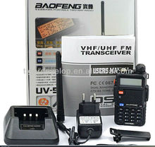 durable uv5ra de doble banda de radio de mano