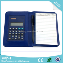 Calculator with Note Pad, Memo Pad and One Pen, desktop solar power calculator