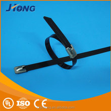 Made In China Wholesale Size 4.6*450 Stainless steel epoxy coated cable tie