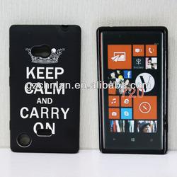 New arrival fashion design hybrid case for Nokia lumia 720