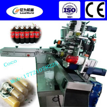 hot sale and manufacturing water injection bottle labeling machine