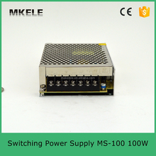MS-100-12 dc ac adapter 220v to 12v dc led power supply 12volt dc regulated power supply series