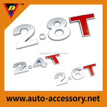 top quality vehicle sticker badges for cars
