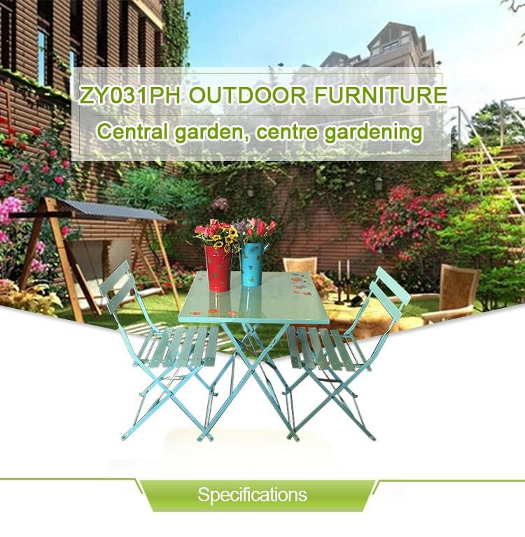 En plein air big lots table et chaise meubles de patio