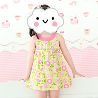 80172 kids clothes baby girls dresses summer dresses made in china