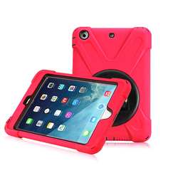 Shockproof Hybrid Protective Case for Ipad Mini4 With Kickstand
