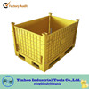 stainless metal material crate for transportation with lid alibaba China