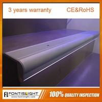 high quality anti-slip stair nosing aluminum profile for led strip lights