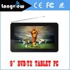 """New wifi dvb-t2 android tablet pc with android 4.4 9"""" quad core from factory promotion"""