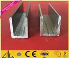Melhor venda quente produtos chineses c canal u canal de alumínio u perfil
