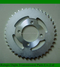 1045# steel high quality motorcycle sprocket and pinion for honda motorcycle from China manufacturer