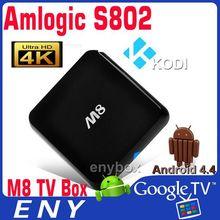 KODI Amlogic S802 Quad Core Google Android 4.4 Kitkat Smart TV Set Top Box