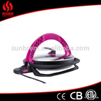 New arrival bridge style electric omelet pan with non stick cooking surface