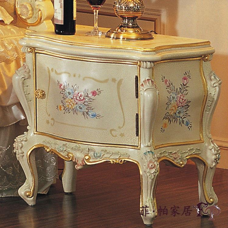 Franc s muebles de dormitorio de estilo cl sico antiguo - Mesillas de noche clasicas ...