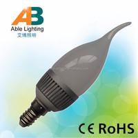3W 2835smd led bulb 280lm lamp e14 10-30V DC led led candle e14