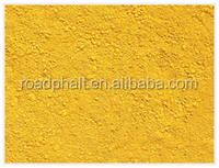 Owning Certificate iron oxide yellow pigment powder used in bitumen road industry