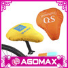 Customized cheap waterproof bicycle seat cover with printing logo
