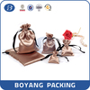 Wholesale Gift Satin Jewelry Pouch Bag with logo printing
