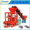 Qtj4-26c bloque de hormigón de la máquina argelia/que hace la máquina del bloque de hormigón utilizado