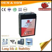 2014 Hot Selling Rechargeable 6V VRLA BP6-2.8 UPS Battery Lead Acid Battery