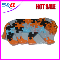wooden jigsaw puzzles moving toys for kids