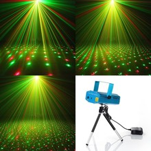 Mini dj laser light home party laser light Projector Stage Lighting disco club laser light show