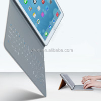 New items in china market wireless bluetooth 13.3 inch tablet pc leather keyboard case for ipad pro/ipadmini4