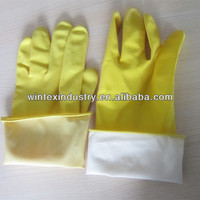 Rubber Dish Washing Gloves