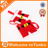 New design funny decoration felt cheap fabric handmade christmas gift bags