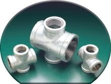 galvanized beaded/banded/plain end plumbing fitting elbow/nipple/socket/coupling/tee/cross