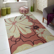 handmade tufted rugs colourful fashion