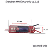 MM VW 0.2ohm pcb simple 18650 battery regulated Vapor DIY BOX MOD