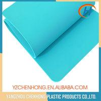 CE Certification Sky Blue Eco-friendly TPE Anti-slip Eco Yoga Mat With Bag