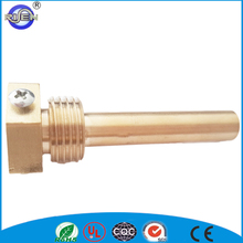 brass immersion pocket for water temperature sensor