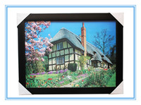 Lenticular 3d pictures natural/3d lenticular picture/home decor picture