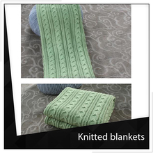 Pure Cotton Knitted Baby Blanket