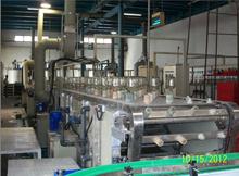 Automatic flat glass frosting machine