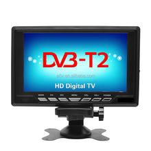 4K/8K/H.265 portable mini lcd with built-in digital tv tunner DVB-T2,DVB-T, ISDB-T TV