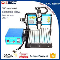 Equipment for small business at home high quality 3040 cnc router wood carving machine for sale accept paypal
