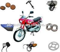 Chinese Motorcycle JinCheng AX100 Parts and Accessories