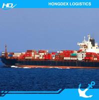 ocean shipping LCL cargo shipment from China to Dubai