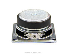 Flush Mount Mini 2.5 Inch Power Magnet Steel Audio Voice Coil Cone Professional Speaker for Building Material Decoration Use