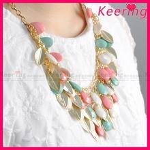 New product jewelry latest bead choker necklace WNK-271