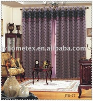 suede printed curtain blackout window curtain ready made curtain or fabric