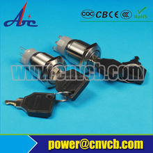 Pushbutton Switches, small pushbutton switch,key switch 2 or 3 position selector key