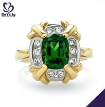 caldo vendita moda desing gioielli anello anello di lanterna verde per la vendita